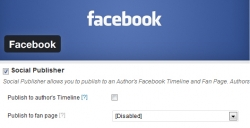 Facebook Plugin: Publish to fan page setting Disabled – WordPress