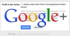 Google+ Profil aus der Google Suche entfernen/deaktivieren. So geht´s!