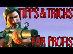 In Fortnite schneller besser werden dank dieser Tipps & Tricks