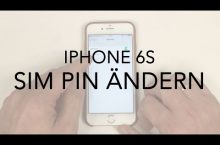 iPhone 6s SIM Pin ändern – Anleitung