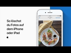 Anleitung: iPhone & iPad Fotos löschen