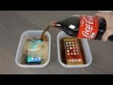 iPhone 6s Plus vs. Samsung Galaxy S7 in Cola eingefroren – Wer gewinnt?