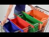Trolley Bags: Praktische Taschen für den Einkaufswagen