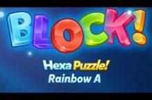Block! Hexa RAINBOW A Lösungen Level 1-80 (Basic)
