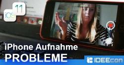 iPhone schaltet sich während der Videoaufnahme ab – iOS 11