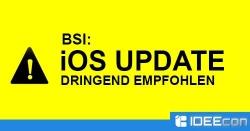 iOS 9.3.3 Update vom BSI dringend empfohlen