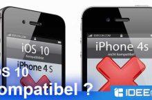iOS 10 kompatible Geräte – Diese iPhones und iPads sind geeignet