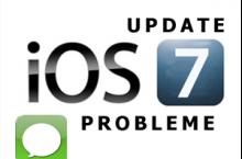 iOS 7 Update: iMessage lässt sich nicht mehr aktivieren