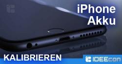 iPhone Akku kalibrieren wenn die Anzeige spinnt – Anleitung