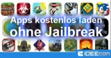Apps kostenlos downloaden ohne Jailbreak für iPhone & iPad