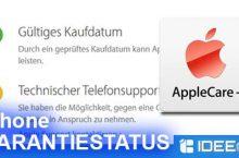 iPhone Garantie überprüfen – Der Garantie-Check von Apple