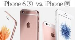 Der Vergleich: iPhone SE oder iPhone 6s