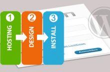 In 3 Schritten zur eigenen Webseite/Blog