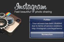 Instagram Account wurde gesperrt – Was tun? Hilfe & Lösungen