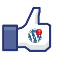 """Facebook """"Like"""" Button für Fanseite ohne Plugin – WordPress"""