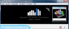 Media Player Classic – konnte einige Pins im Filter-Graph nicht verbinden