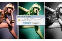 Das Objekt xxx ist zurzeit nicht verfügbar – Photoshop Actions