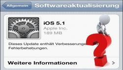 Apple iOS 5.1 Probleme mit Internetbrowser Safari auf iPhone 4