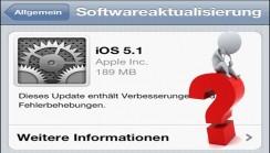 Apple iOS 5.1 Probleme mit Internetbrowser Safari auf iPhone 4