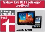 Laut Stiftung Warentest Galaxy Tab 10.1 besser als iPad2