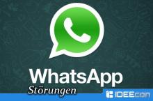 Störungen bei Facebook, Whatapp und Instagram