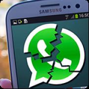 Nachricht bringt WhatsApp zum Absturzt!