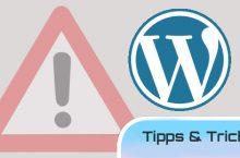 WordPress richtig nutzen – worauf man achten sollte!