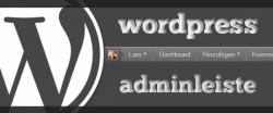 WordPress Adminleiste komplette entfernen für alle Benutzer